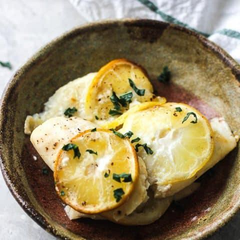 keto crockpot tilapia fish