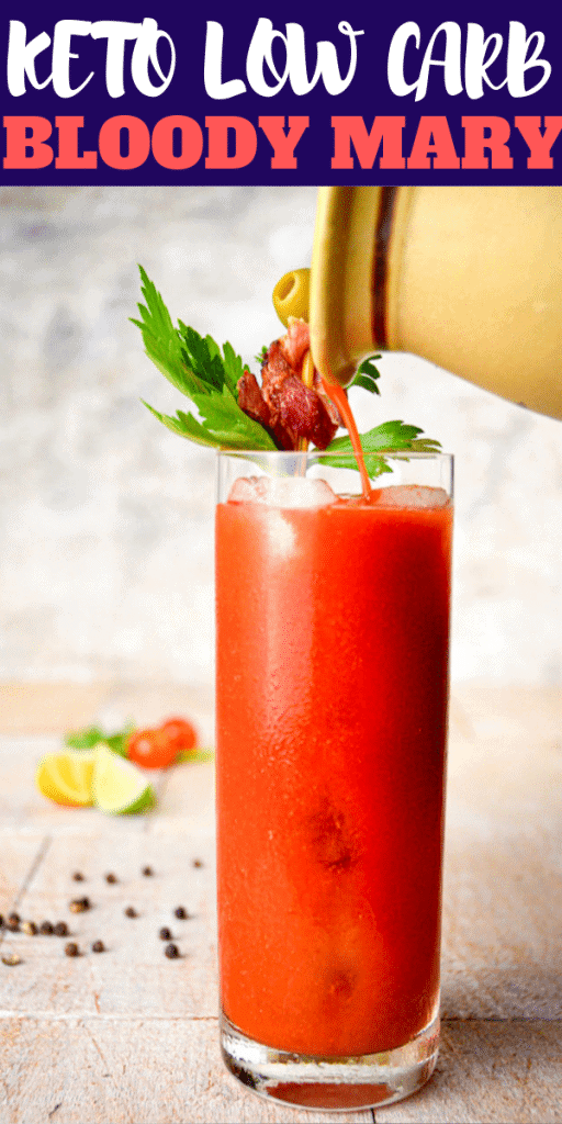 keto cocktails bloody mary