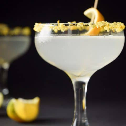 Keto lemon drop cocktail