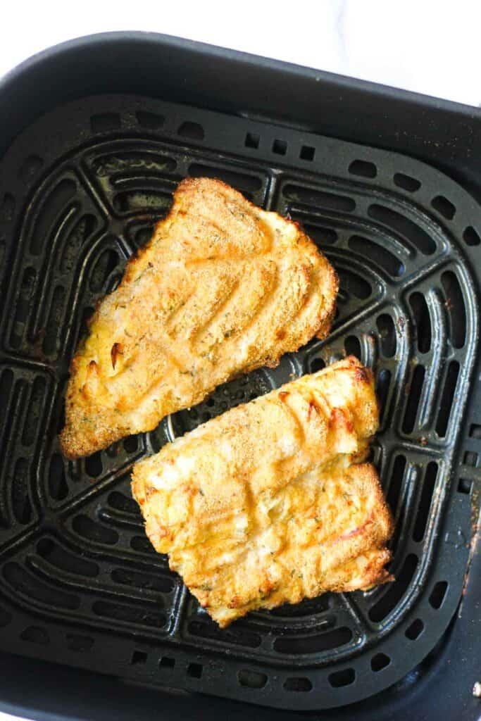 air fried crispy fish