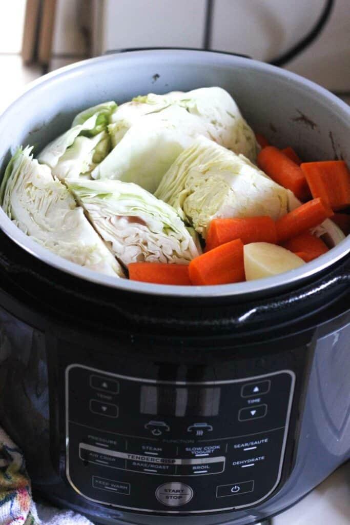 vegetables in ninja foodi