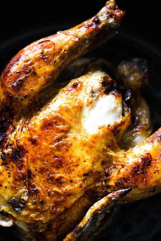browned crunchy chicken