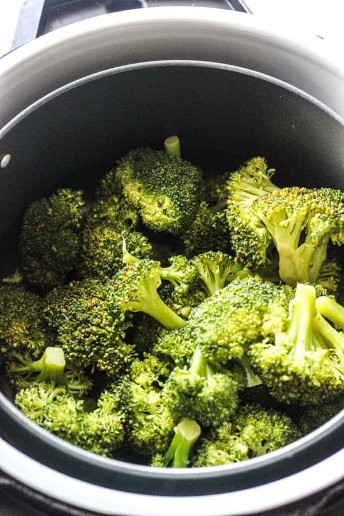 steaming vegetables in ninja foodi